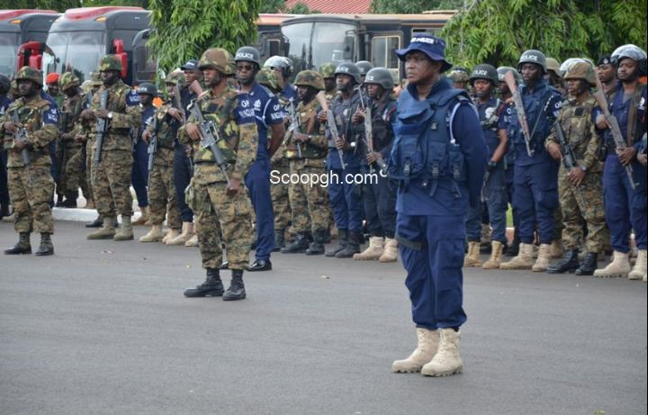 TIGHT SECURITY TOWARDS PRESIDENT'S / PARLIAMENTARIANS INAUGRATION