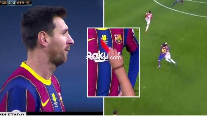 Lionel Messi Sent Off For The First Time In His Football Career….